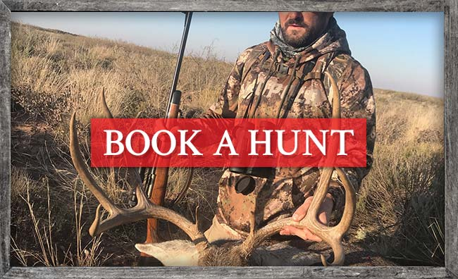 Book a Hunt with Triple C Outfitters