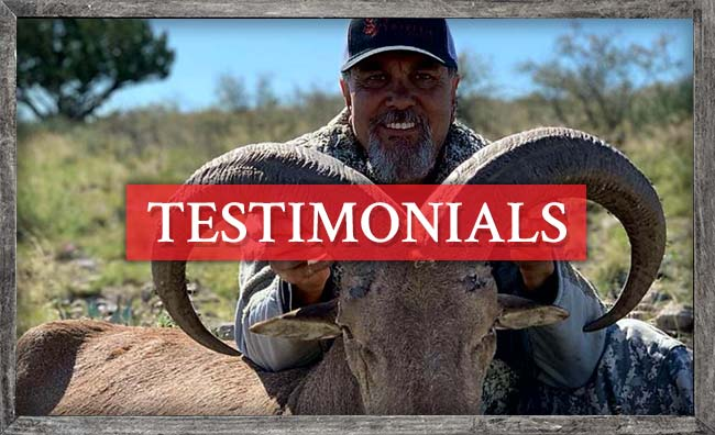 Triple C Outfitters Testimonials